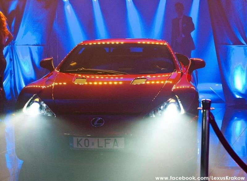 Lexus of Poland Celebrates First Sold LF-A Supercar