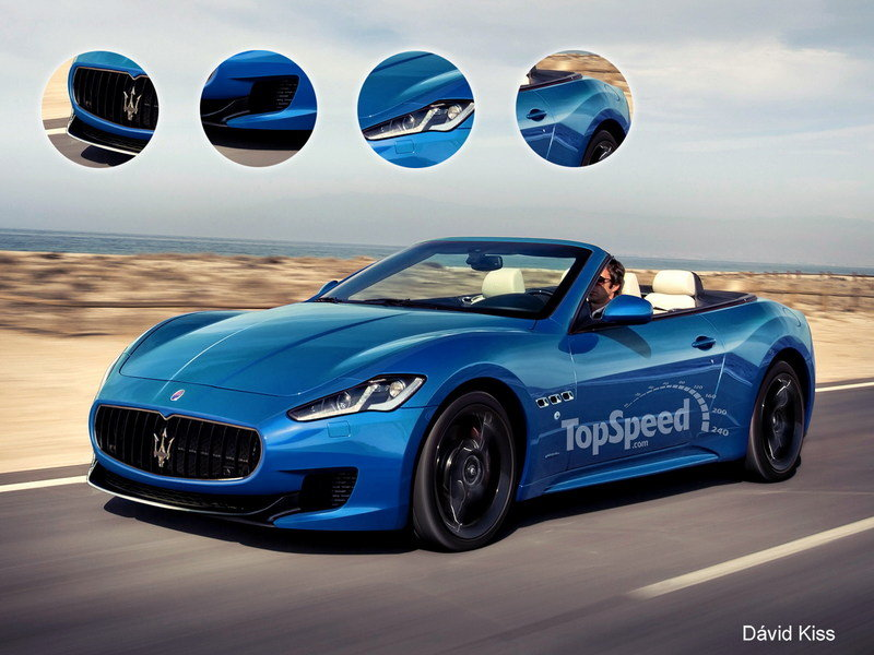 2015 Maserati GranCabrio Exclusive Renderings - image 488320