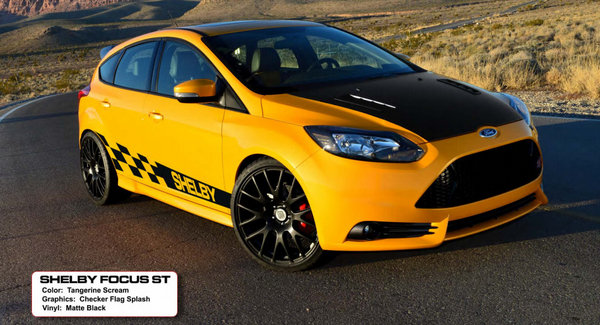 The New Limited Edition Shelby Focus from Shelby 2013