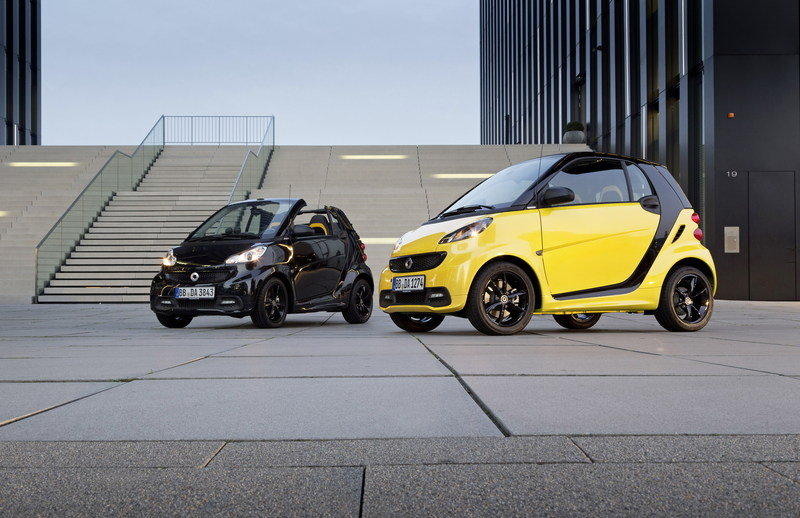 2013 Smart ForTwo CityFlame Coupe and Cabrio