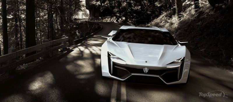 2014 W Motors LykanHypersport