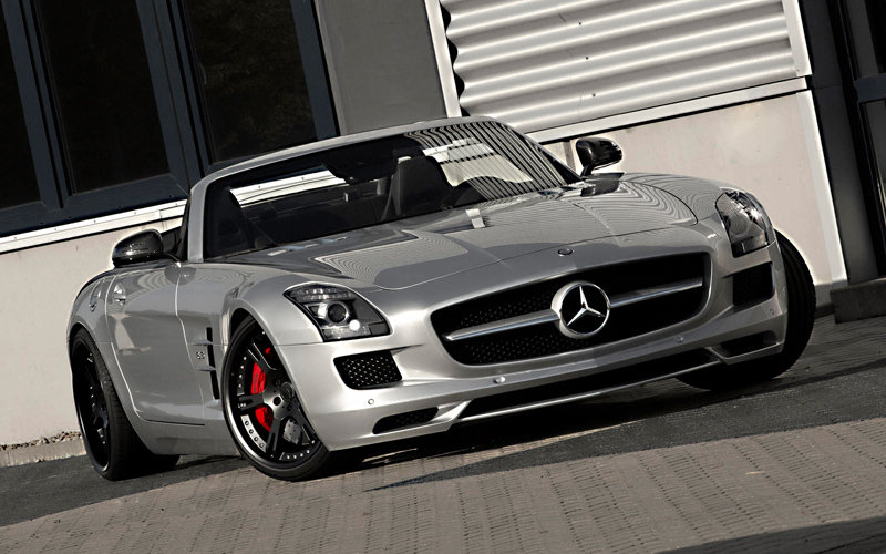 Wheelsandmore Adds Some Serious Pop to the Mercedes SLS Roadster