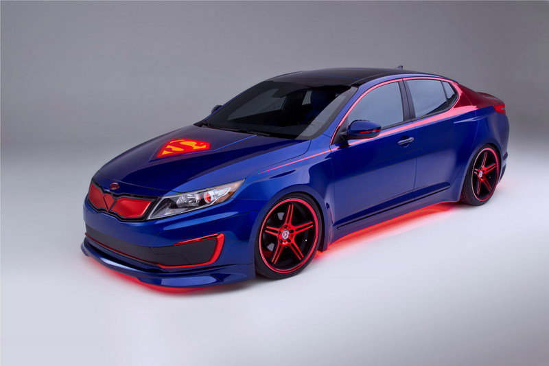 "2012 Kia Optima Hybrid ""Superman"""