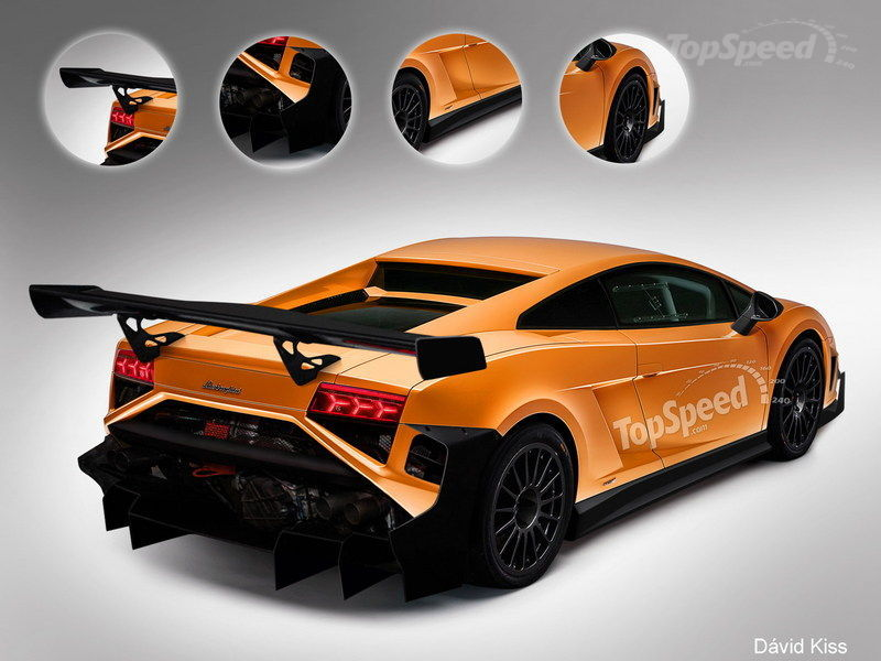 2013 Lamborghini Gallardo GT3 FL2 Exclusive Renderings - image 491469