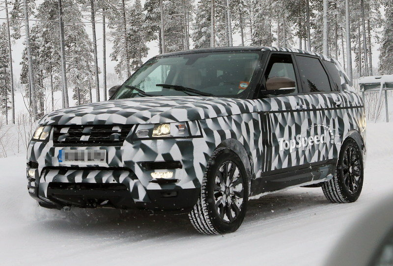 Spy shots: 2014 Land Rover Range Rover Sport Caught Testing in the Arctic Circle