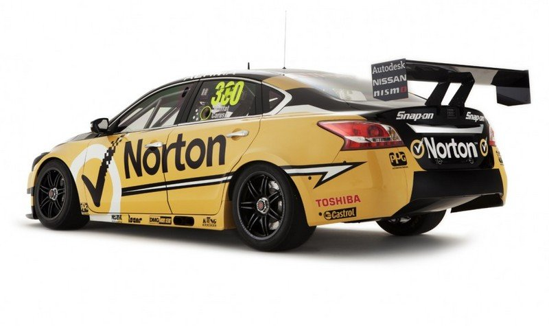 2013 Nissan Altima V8 Supercar Series Race Car
