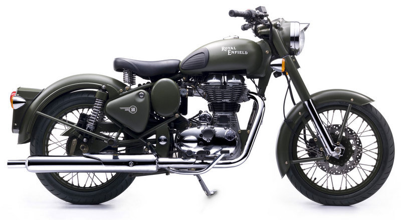 2013 Royal Enfield Bullet C5 Military High Resolution Exterior - image 491450