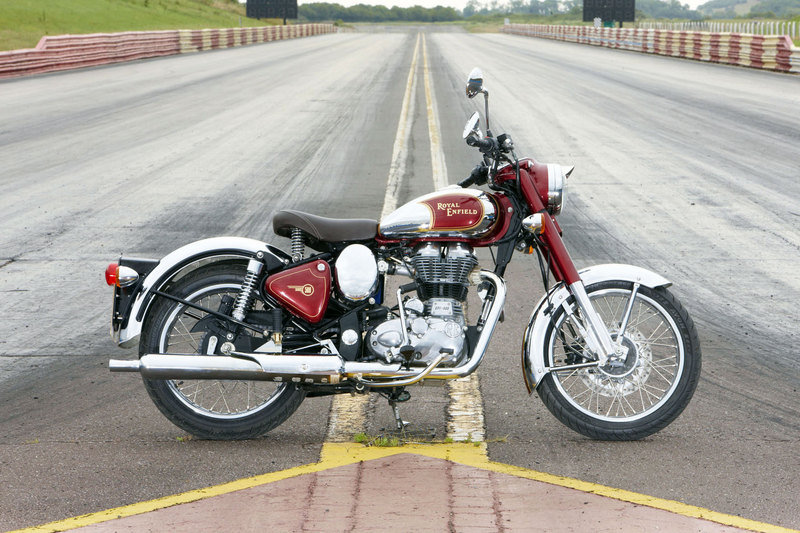 2013 Royal Enfield Bullet C5 Chrome High Resolution Exterior Wallpaper quality - image 491458