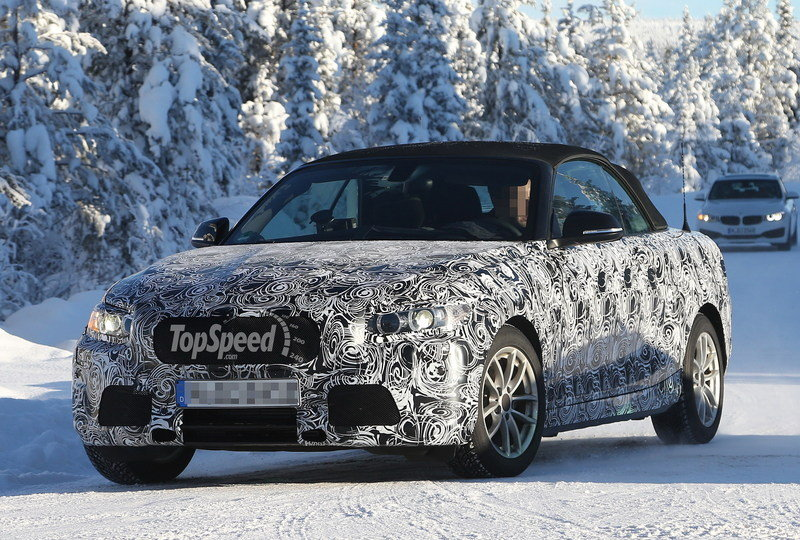Spy Shots: BMW 2-Series Convertible Caught in Sweden