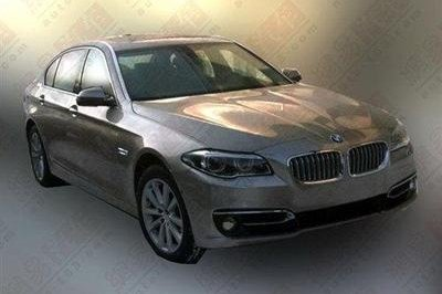 2014 BMW 5-Series Revealed in Leaked Images