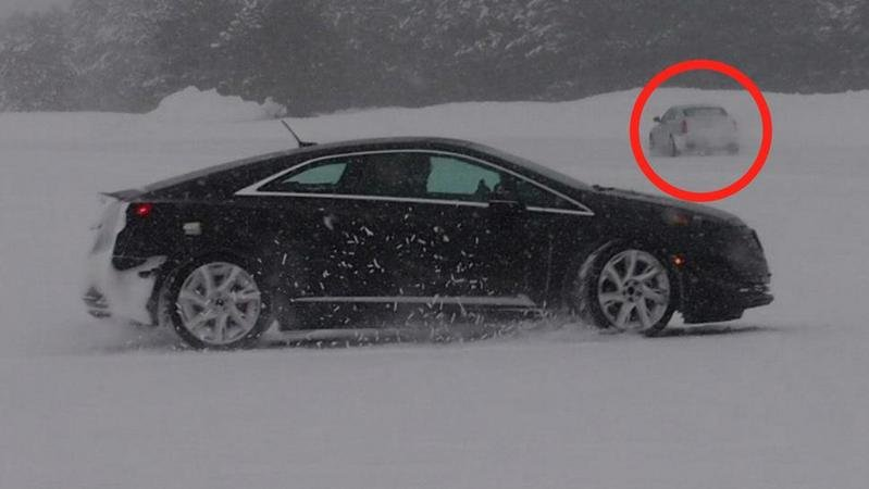 2014 Cadillac CTS Accidentally Unveiled by GM