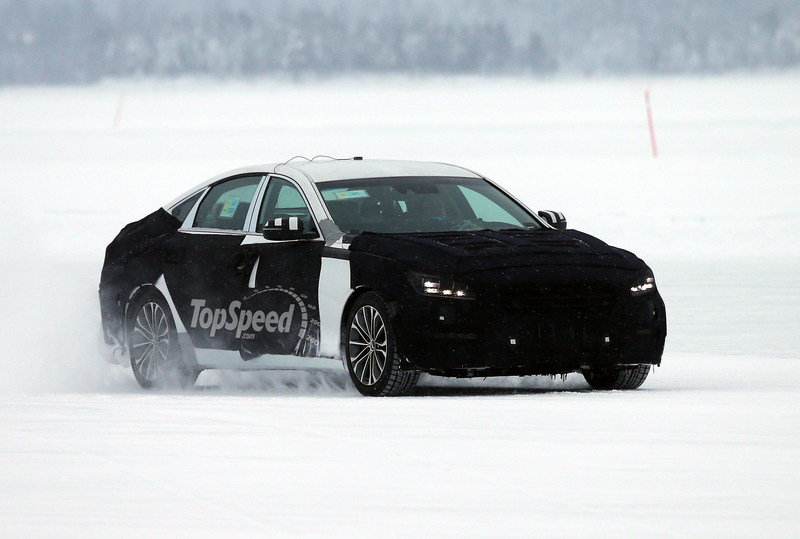 Spy Shots: 2014 Hyundai Genesis Caught Winter Testing