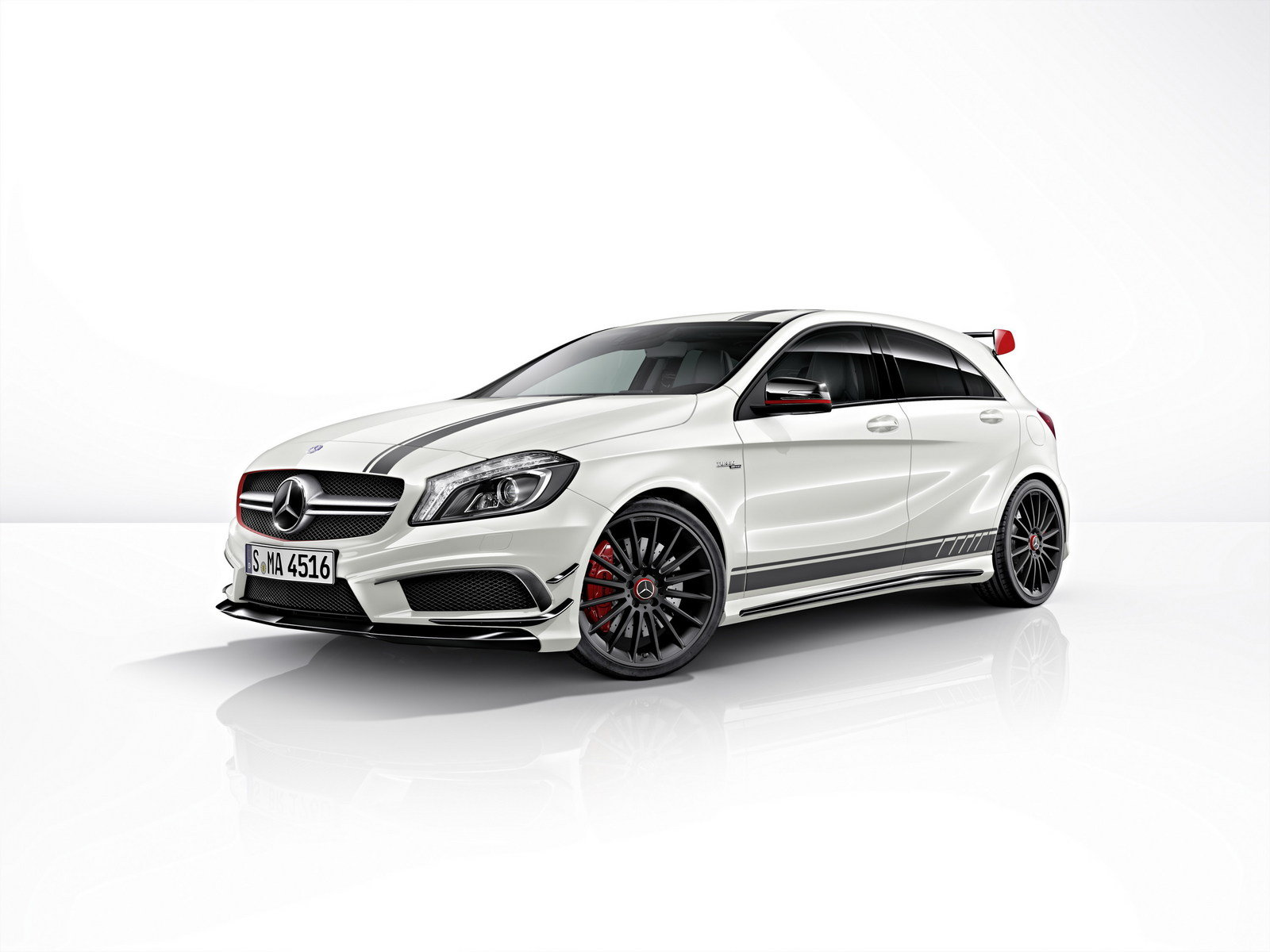 2014 mercedes a45 amg edition 1 review top speed. Black Bedroom Furniture Sets. Home Design Ideas
