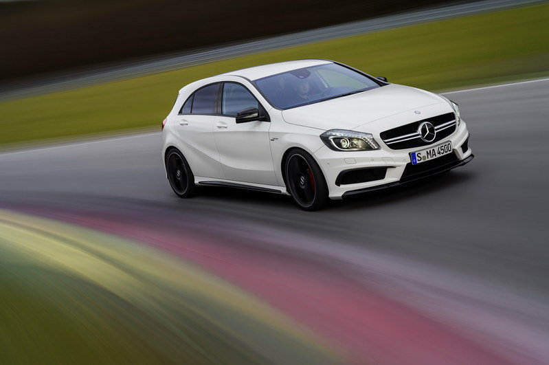 2014 Mercedes-Benz A45 AMG High Resolution Exterior - image 492695