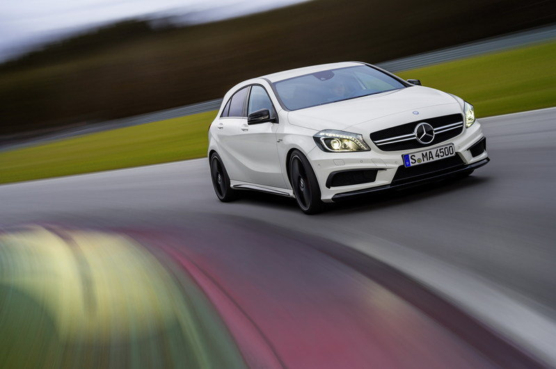 2014 Mercedes-Benz A45 AMG High Resolution Exterior Wallpaper quality - image 492696