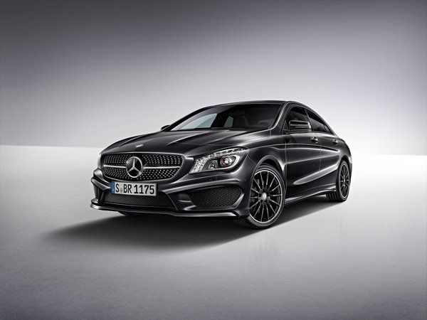 mercedes cla edition 1 picture