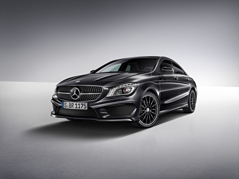2014 Mercedes CLA Edition 1