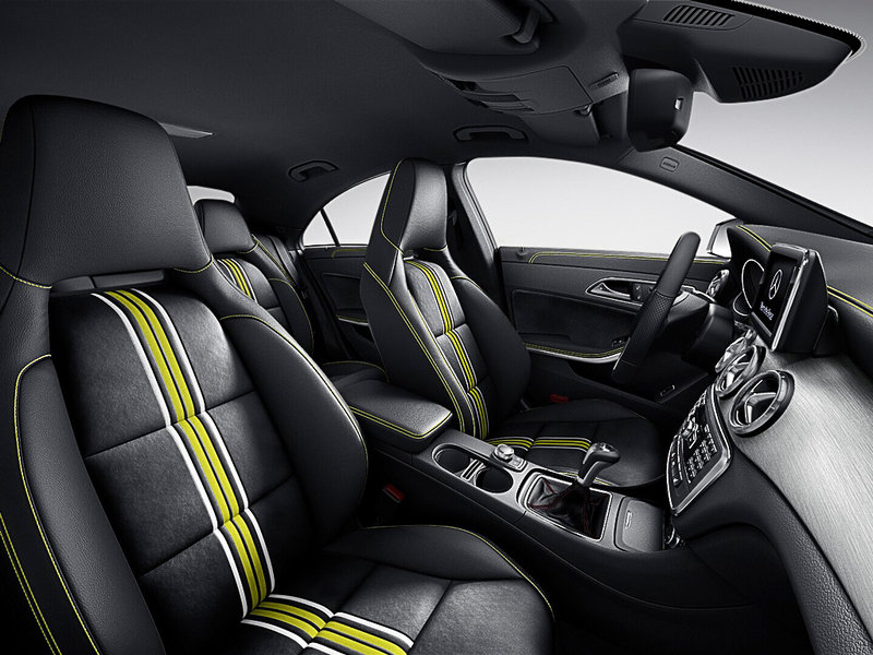 2014 Mercedes CLA Edition 1 Interior - image 492045