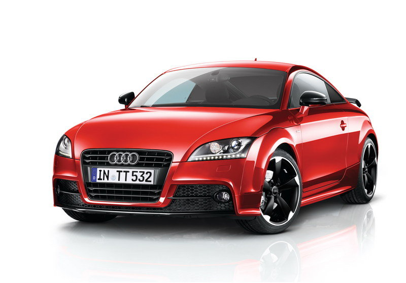 2013 Audi TT Coupe and Roadster Black Edition