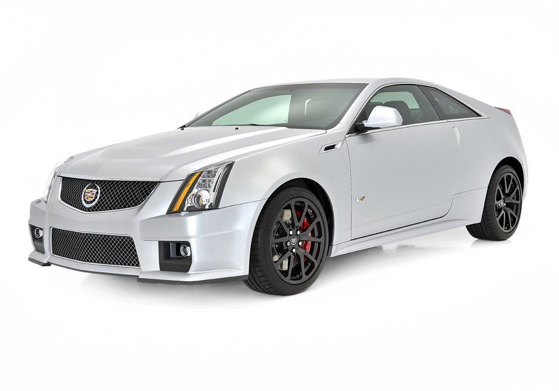 2013 Cadillac CTS-V Silver Frost and Stealth Blue Limited Edition High Resolution Exterior - image 492936