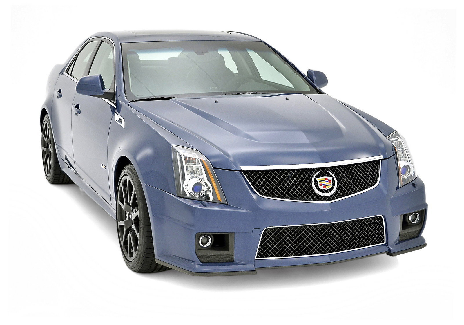 2013 cadillac cts v silver frost and stealth blue limited edition review top speed. Black Bedroom Furniture Sets. Home Design Ideas