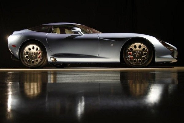 final alfa romeo stradale tz3 by zagato will be presented at the amelia island concours picture