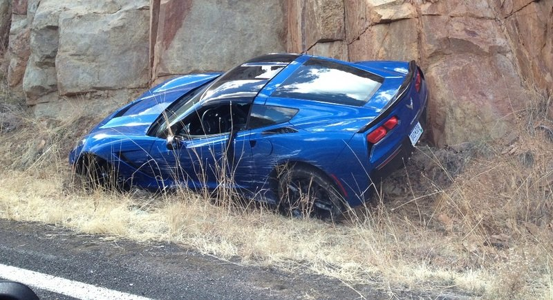 First Corvette Stingray Crash Takes Place in Arizona