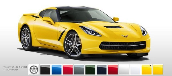 chevy launches the online configurator for the corvette stingray picture