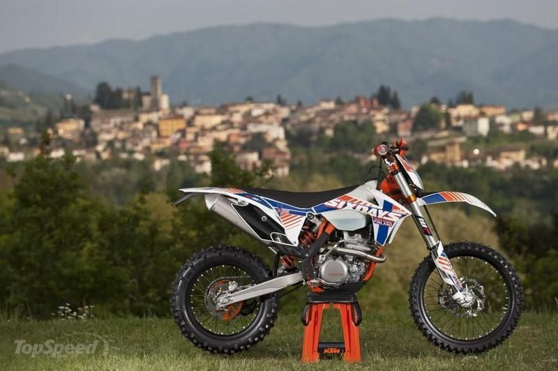 2013 KTM 350 EXC-F Six Days High Resolution Exterior - image 492799