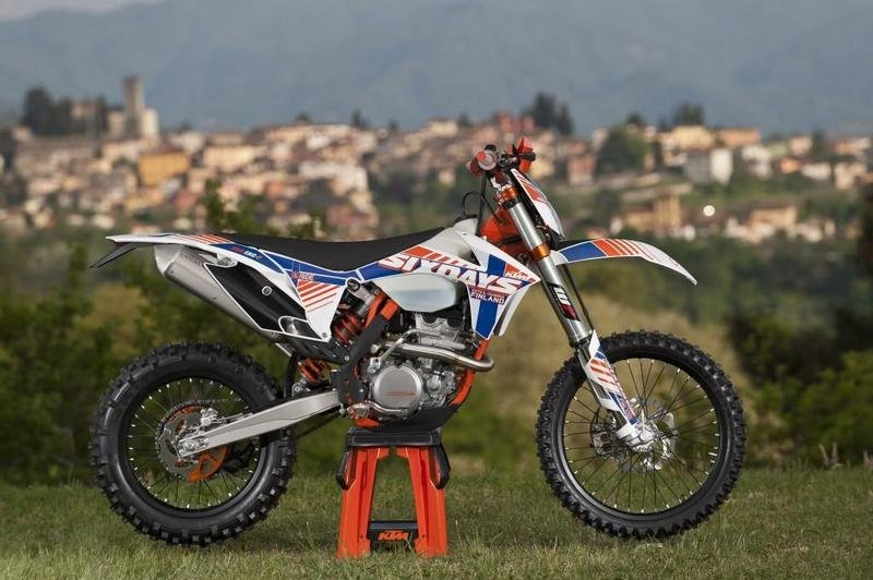 2013 KTM 350 EXC-F Six Days High Resolution Exterior - image 492801