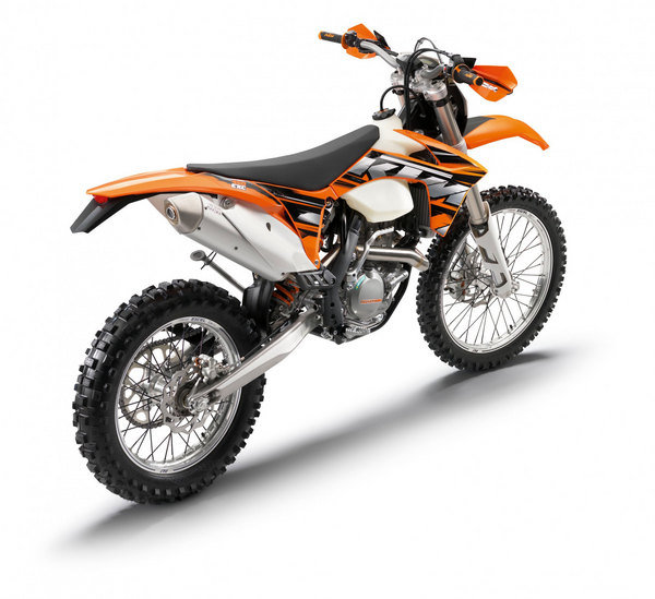 Motorcycle Review Top Speed: 2013 KTM 450 EXC - Picture 492725
