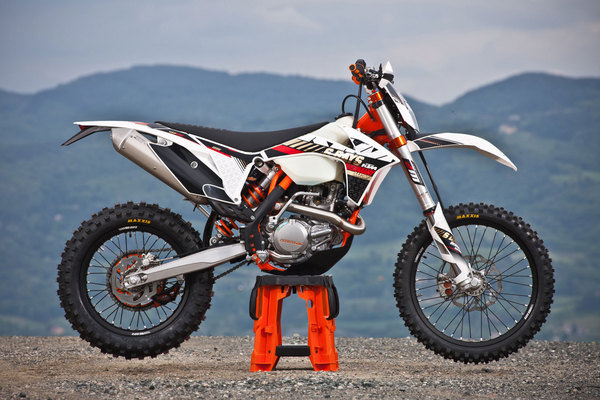 2013 ktm 450 exc six days review - top speed