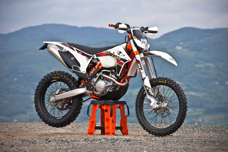 2013 KTM 450 EXC Six Days High Resolution Exterior - image 492989