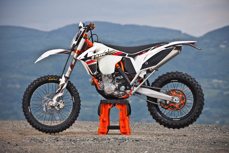 2013 KTM 450 EXC Six Days High Resolution Exterior - image 492990