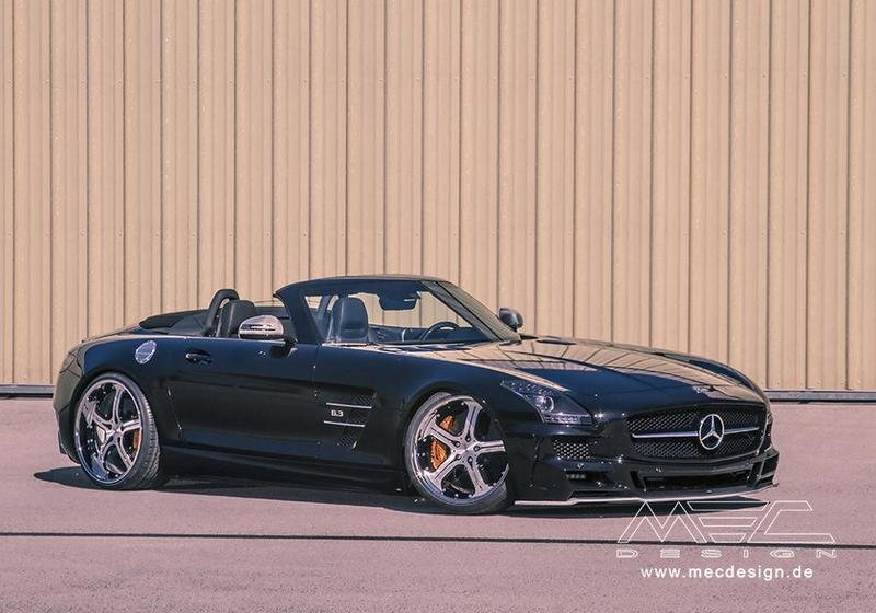 MEC Design Dresses up the Mercedes SLS AMG Roadster