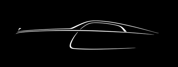 new teaser image confirms rolls royce wraith will be a fastback picture