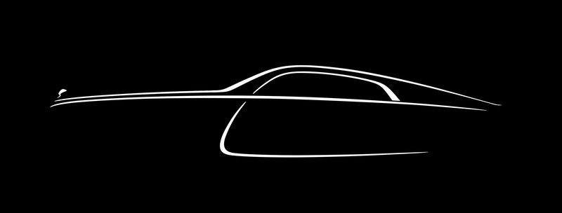 New Teaser Image Confirms Rolls Royce Wraith will be a Fastback