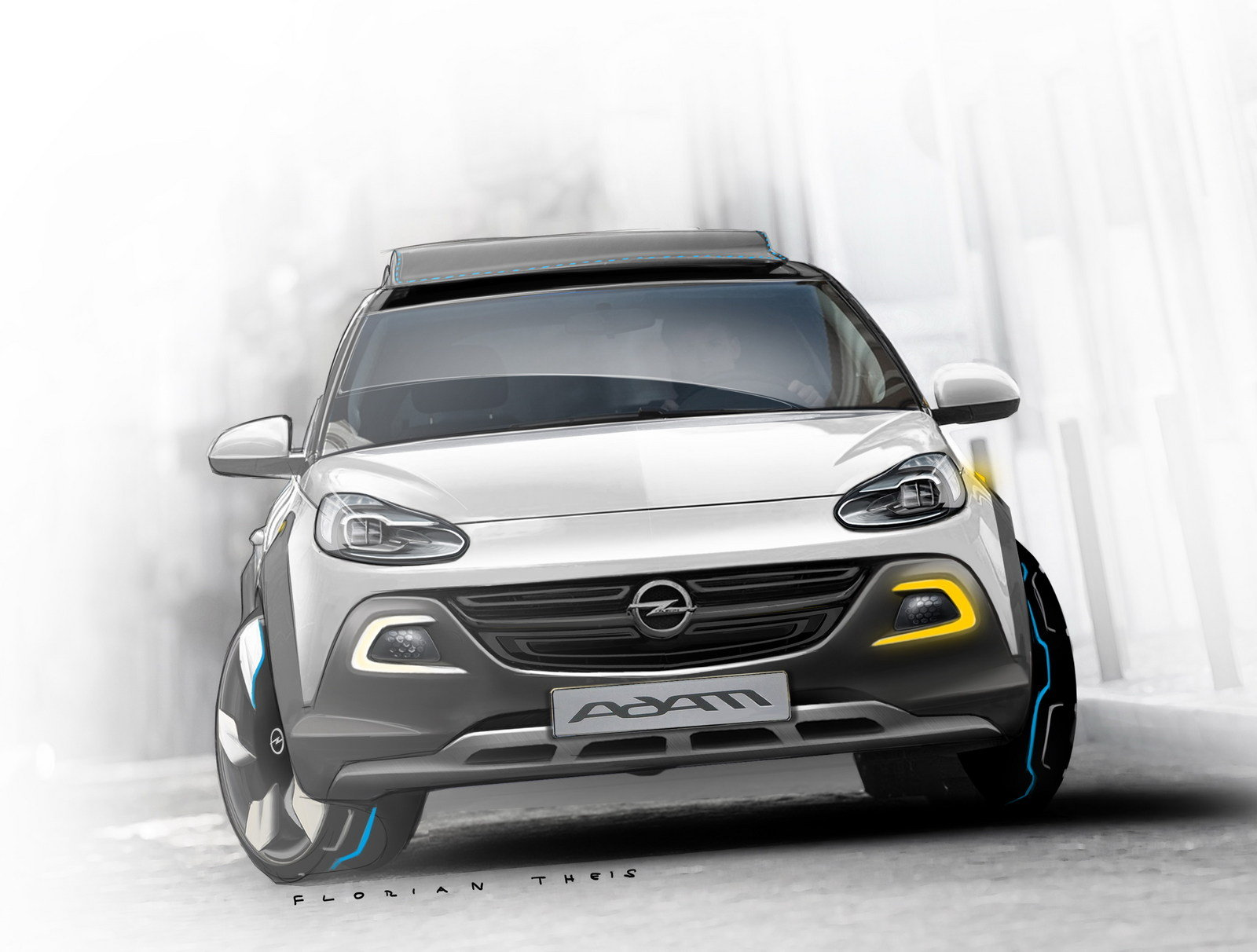 2013 opel adam rocks concept review top speed. Black Bedroom Furniture Sets. Home Design Ideas