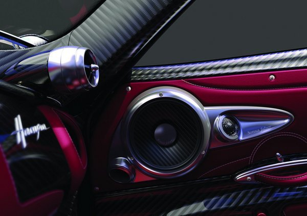 pagani huayra will feature a sonus faber 1200-watt sound system picture