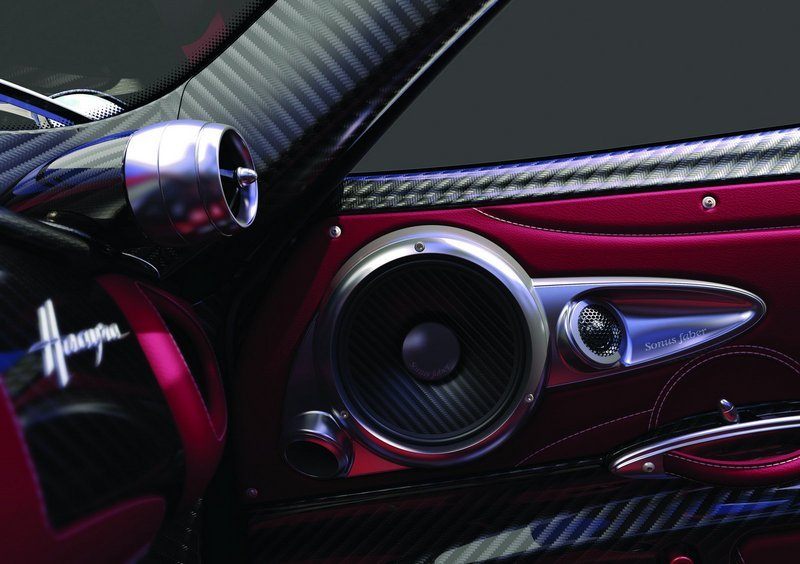 Pagani Huayra Will Feature a Sonus Faber 1200-Watt Sound System