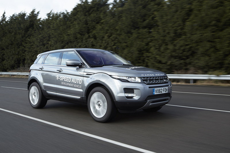 Land Rover to Unveil the World's First Nine-Speed Automatic Transmission