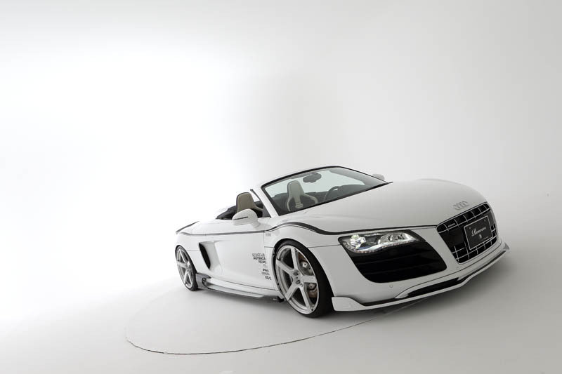 Tommykaira launches Audi R8 White Wolf Edition