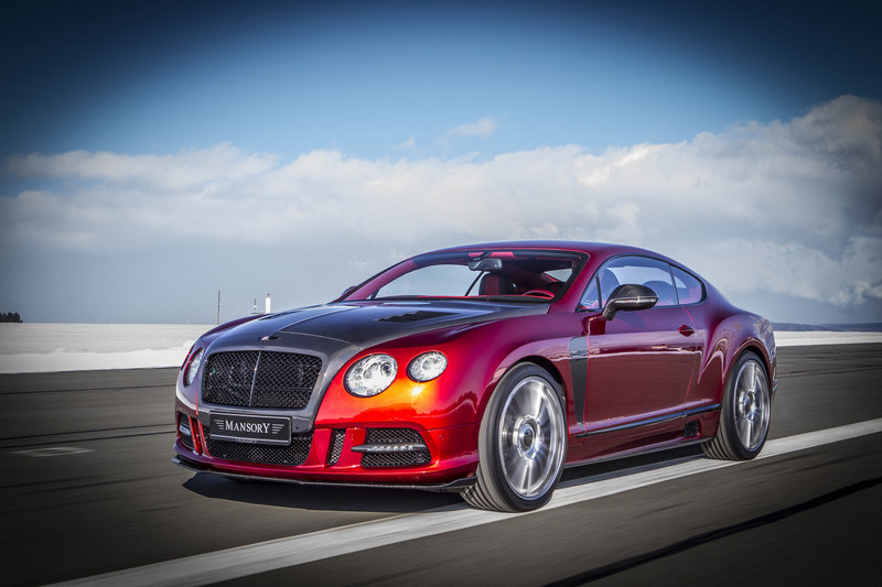 2013 Bentley Continental Sanguis by Mansory High Resolution Exterior - image 494924