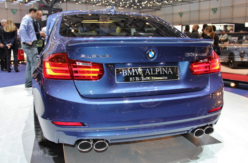 2013 BMW Alpina B3 Biturbo