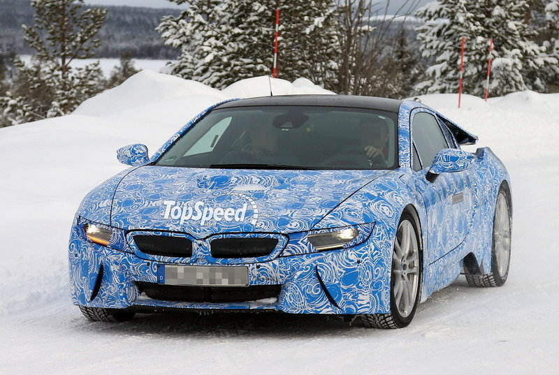 Spy Shots: BMW i8 Reveals New Details