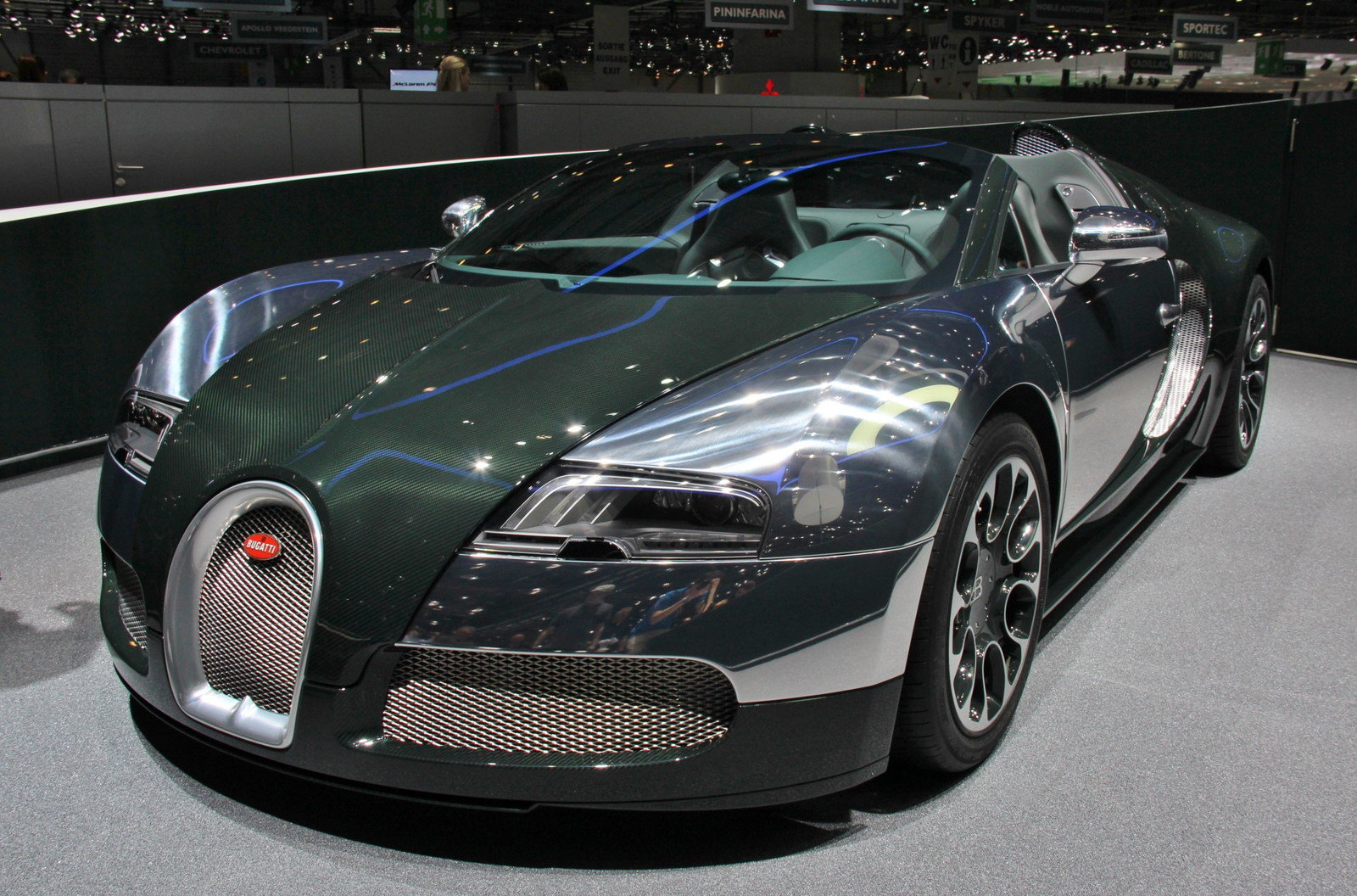 2013 bugatti veyron 16 4 grand sport green carbon picture 497049 car review top speed. Black Bedroom Furniture Sets. Home Design Ideas