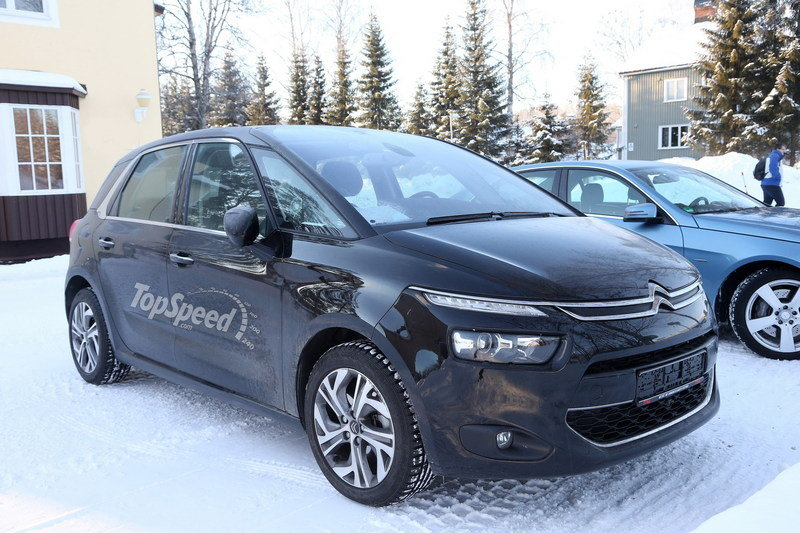 Spy Shots: Citroen Picasso Caught Testing Camo Free