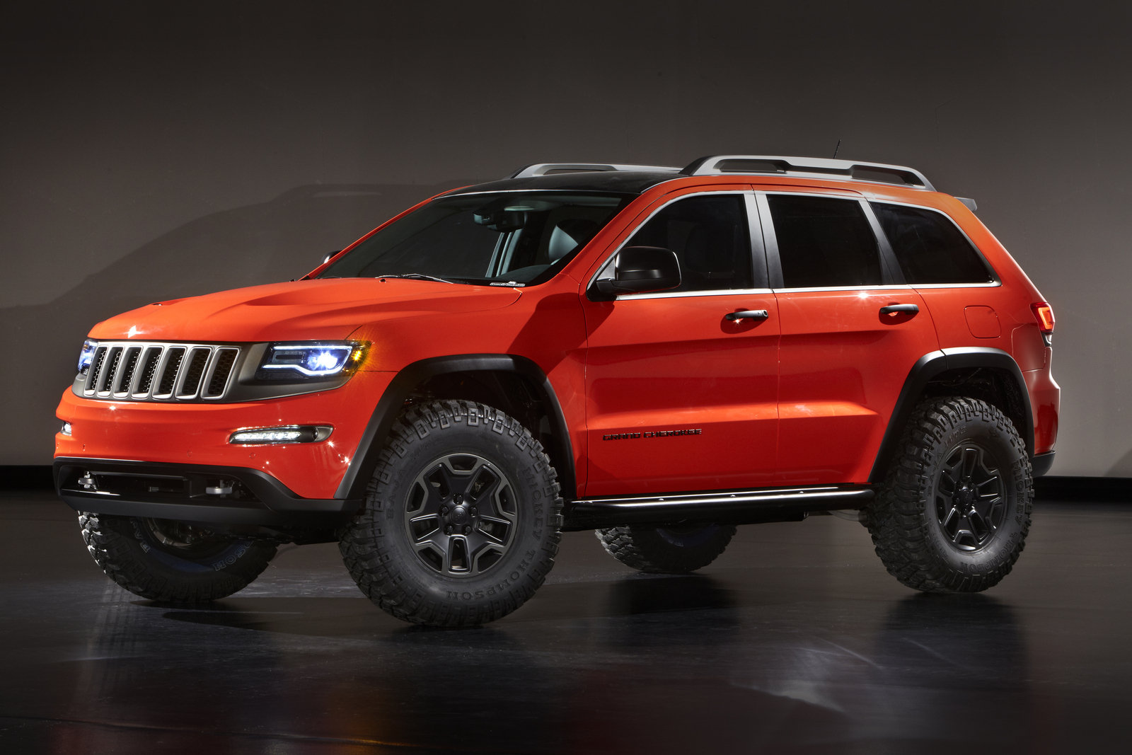 2013 jeep grand cherokee trailhawk ii concept picture 498608 car review top speed. Black Bedroom Furniture Sets. Home Design Ideas