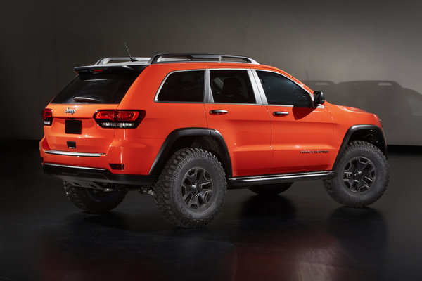 2013 Jeep Grand Cherokee Trailhawk Ii Concept Car