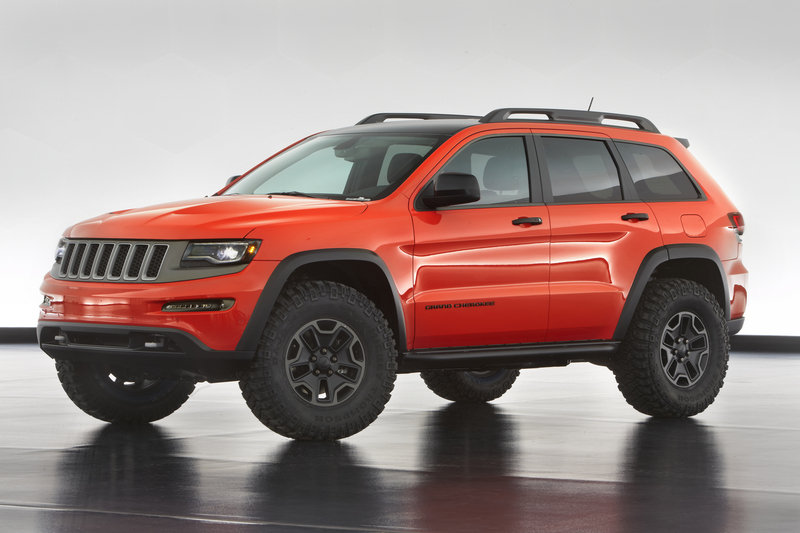 "2013 Jeep Grand Cherokee ""Trailhawk II"" Concept"